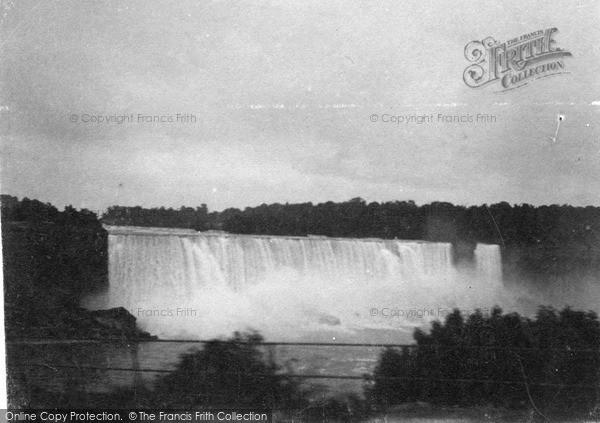 Photo of Niagara, American Falls c.1900