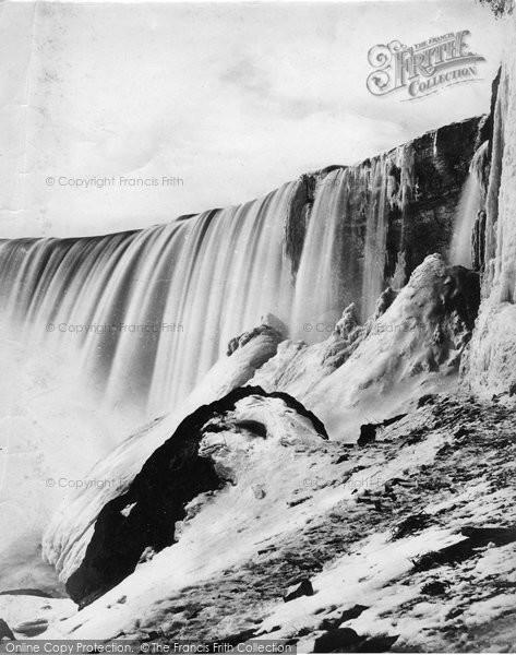 Photo of Niagara, Luna Island c.1872