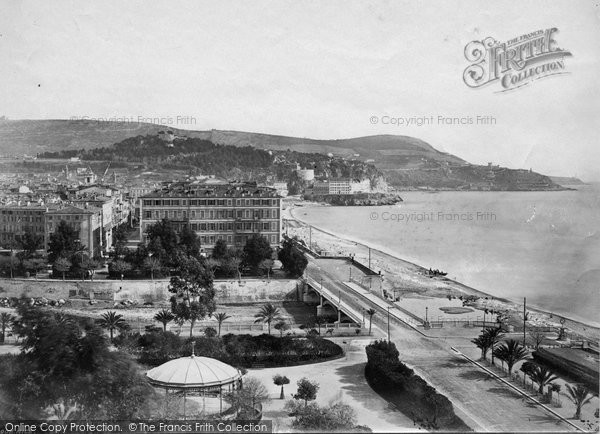 Photo of Nice, From The Jardin Public c.1870