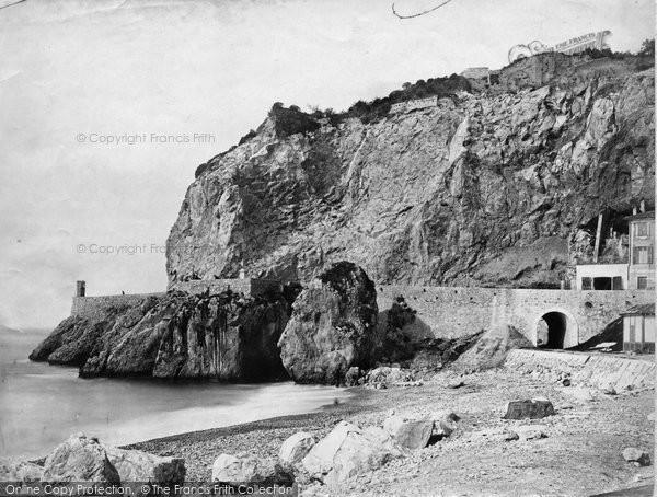 Photo of Nice, Les Ponchettes c.1873