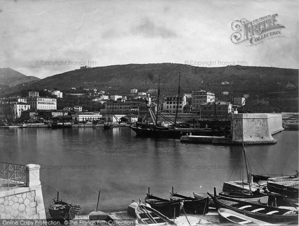 Photo of Nice, View Of The Port c.1870