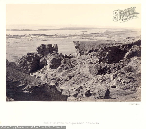 Photo of Nile, From The Quarries Of Toura 1859