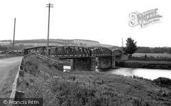 Bridge Over The Teviot c.1960, Nisbet