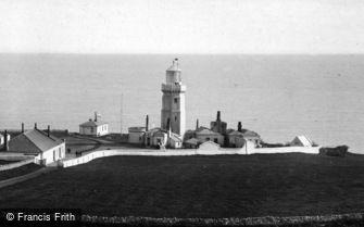 Niton, St Catherine's Lighthouse 1896