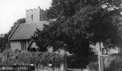Nonington, Church Of St Mary The Virgin c.1955