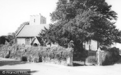 Nonington, Church Of St Mary The Virgin c.1955
