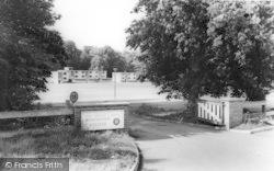 Nonington, College, The Entrance c.1955