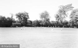 Nonington, Cricket, Fredville Park c.1955