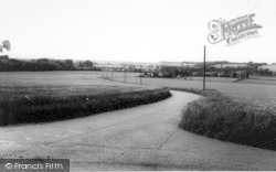 Nonington, General View c.1955
