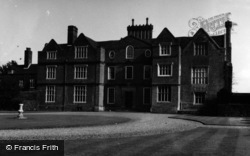 Nonington, Knowlton Court 1954