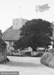 Nonington, The Church c.1955