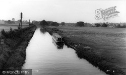 Norbury Junction, The Canal c.1955