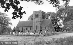 Norley, St John's Church c.1955