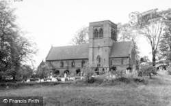 Norley, St John's Church c.1960