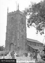 All Saints Church c.1955, Normanton