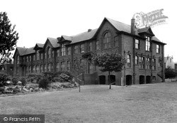 Girls High School, Church Lane c.1955, Normanton
