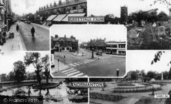 Normanton, Greetings From Normanton c.1965