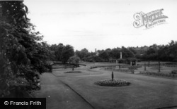 Normanton, Haw Hill Park c.1955