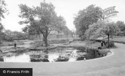 Haw Hill Park, The Pond c.1955, Normanton