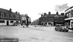 Market Place c.1955, Normanton