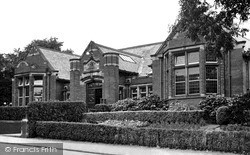 Normanton, The Library c.1955