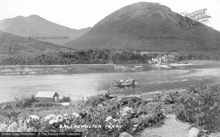 Photo of North Ballachulish, Ferry c.1935