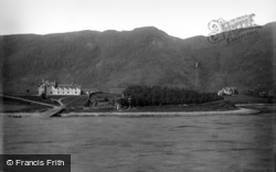 North Ballachulish, Loch Leven Hotel c.1890