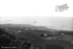 North Berwick, From The Law 1897