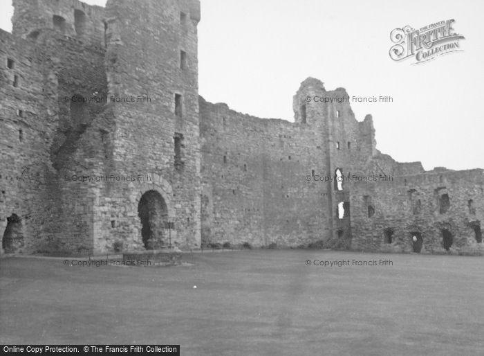 Photo of North Berwick, Tantallon Castle 1954