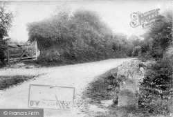 Moreton Hampsted Road 1907, North Bovey