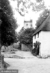St John's Church And Lychgate 1907, North Bovey
