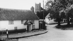 The Village c.1960, North Bovey