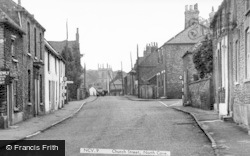 Church Street c.1955, North Cave