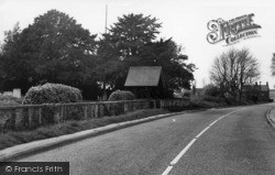North Chailey, Lychgate, St Mary's Chapel c.1965