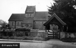 North Chailey, St Mary's Chapel c.1965