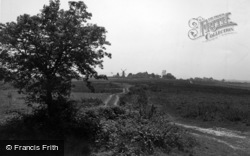 North Chailey, The Common c.1950