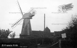 The Windmill c.1950, North Chailey