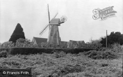 North Chailey, Windmill c.1950