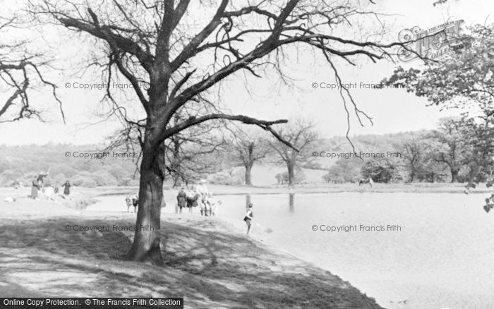 Photo of North Chingford, Butlers Pond c.1955