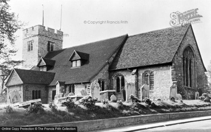 Photo of North Chingford, Old Chingford Church c.1955