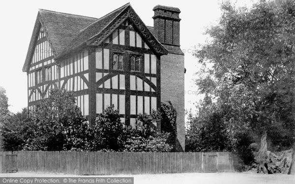 Photo of North Chingford, Queen Elizabeth's Hunting Lodge 1903
