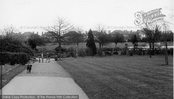 Photo of North Chingford, Ridgeway Park c.1955