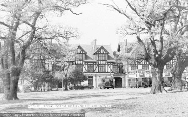 Photo of North Chingford, Royal Forest Hotel c.1955