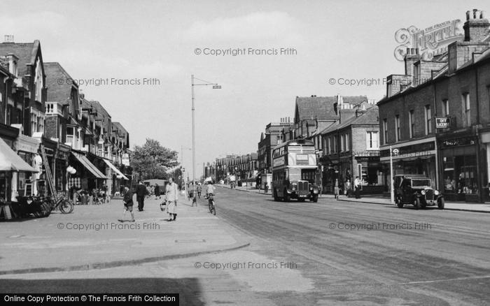 Photo of North Chingford, Station Road c.1955