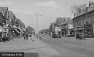 North Chingford, Station Road c1955