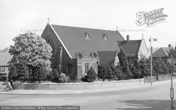 Photo of North Chingford, The Catholic Church c.1955