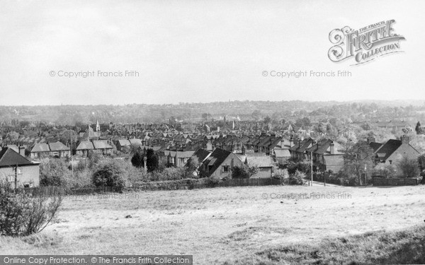 Photo of North Chingford, View From Pole Hill c.1955