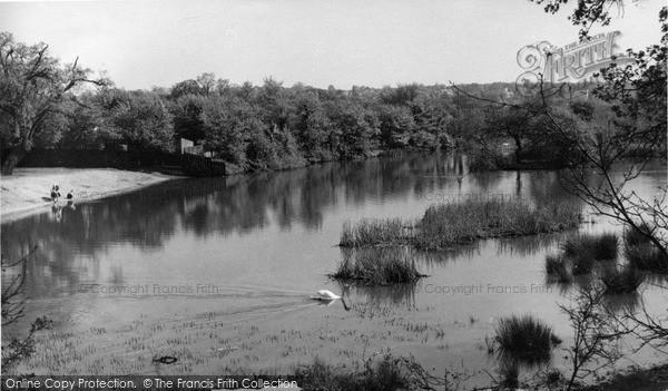 Photo of North Chingford, Warren Pond c.1955