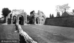 North Creake, Abbey c.1955