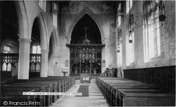 North Creake, Church, Interior c.1955